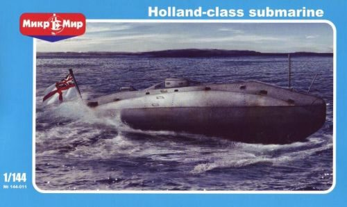 Micro Mir  AMP MM144-011 British submarine Holland class