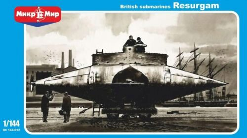Micro Mir  AMP MM144-012 Resurgam British submarine