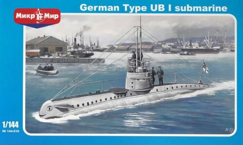 Micro Mir  AMP MM144-016 German submarine UB-1 Type