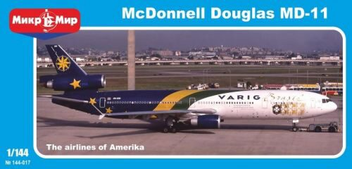 Micro Mir  AMP MM144-017 McDonnell Douglas MD-11 Varig Brasil.Lim Limited Edition