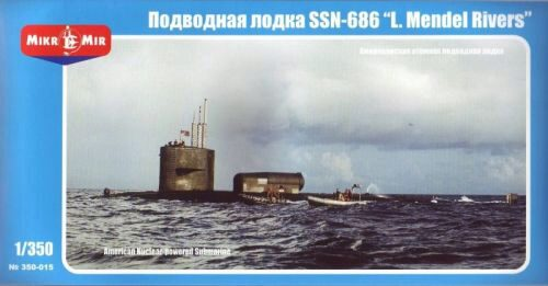 Micro Mir  AMP MM350-015 U.S.nuclear-powered submarine SSN-686 MR