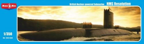 Micro Mir  AMP MM350-026 HMS Resolution British nuclear-powered submarine