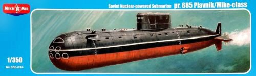 Micro Mir  AMP MM350-034 Project 685 Plavnik/Mike-class,Soviet nuclear powered submarine