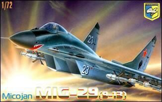 Kondor KO7202 MiG-29 (9-13) Soviet prototype fighter