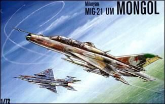 Kondor KO7207 MiG-21 UM Mongol Soviet trainer-fighter