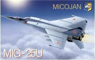 Kondor KO7213 MiG-25PU Soviet training battle interc.