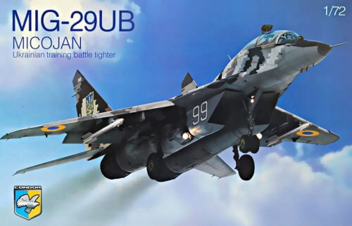 Kondor KO72004 MIG-29UB Ukrainian training battle tight