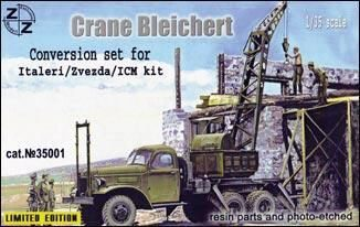 ZZ Modell ZZ35001 Crane Bleichert, Conversion set