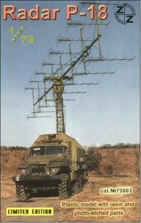 ZZ Modell ZZ72003 P-18 Soviet radar vehicle