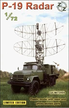 ZZ Modell ZZ72004 P-19 Soviet radar vehicle