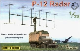 ZZ Modell ZZ72005 P-12 Soviet radar vehicle