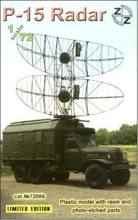 ZZ Modell ZZ72006 P-15 Soviet radar vehicle