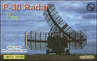 ZZ Modell ZZ72008 P-30 Soviet radar vehicle