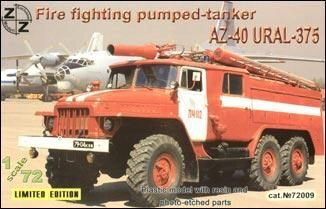 ZZ Modell ZZ72009 AZ-40 Ural-375 fire fighter