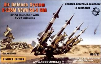 ZZ Modell ZZ87016 S-125M Neva/SA-3 GOA air defense