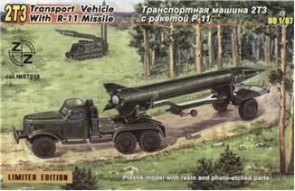 ZZ Modell ZZ87018 2TZ Soviet transport vehicle w. R-11