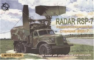ZZ Modell ZZ87020 RSP-7 Soviet radar vehicle