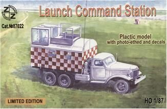 ZZ Modell ZZ87022 Soviet launch command station