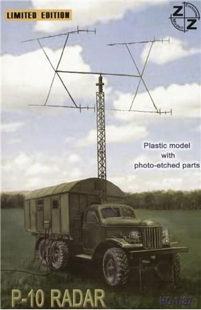 ZZ Modell ZZ87025 P-10 Soviet radar vehicle