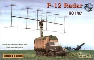 ZZ Modell ZZ87026 P-12 Soviet radar vehicle