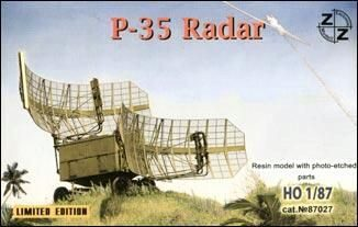 ZZ Modell ZZ87027 P-35 Soviet radar vehicle
