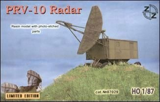 ZZ Modell ZZ87029 PRV-10 Soviet radar vehicle