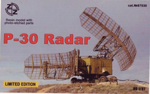 ZZ Modell ZZ87030 P-30 Soviet radar vehicle