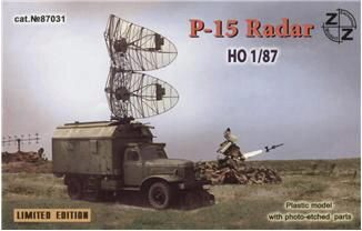 ZZ Modell ZZ87031 P-15 soviet radar vehicle