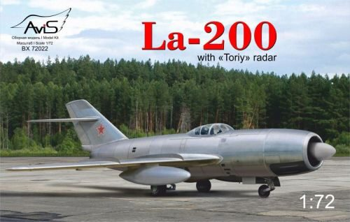 "Avis AV72022 La-200 with ""Toriy"" radar"