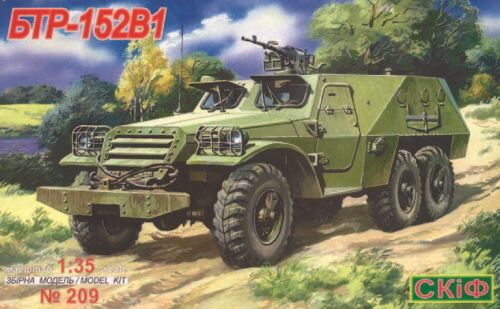 Skif MK209 BTR 152 V 1 Armoured Troop Carrier