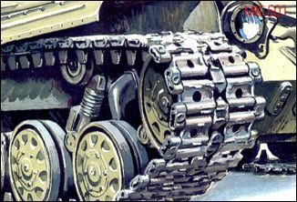 Skif MK501 Separate Track Links for T-64
