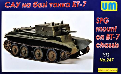 Unimodels UM247 SPG based on the BT-7 chassis