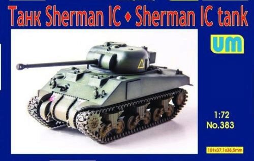 Unimodels UM383 Medium tank Sherman IC