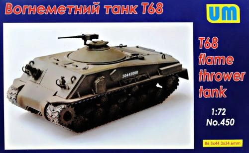Unimodels UM450 T68 Flame thrower Tank