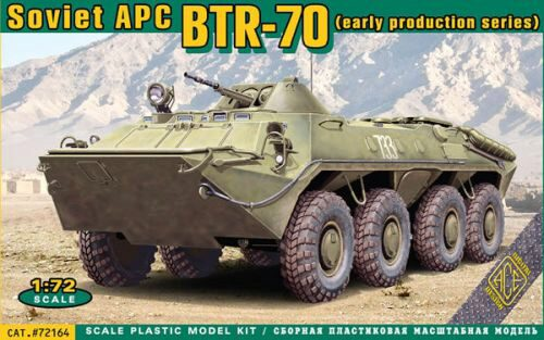 ACE 72164 BTR-70 Soviet armored personnel carrier,
