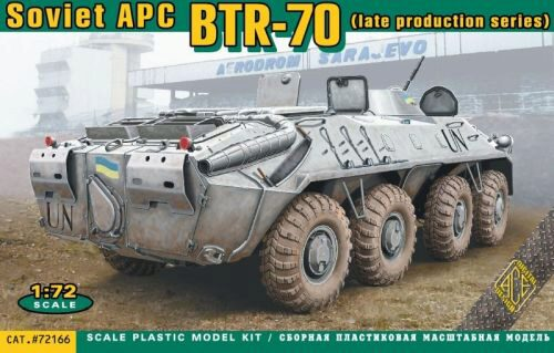 ACE 72166 BTR-70 Soviet armored personnel carrier late prod.
