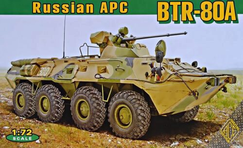 ACE 72172 BTR-80A Soviet armored  personnel carrie