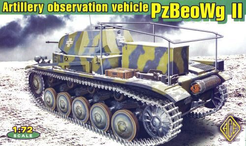 ACE 72270 Panzerbeobachtungswagen II artillery observation vehicle