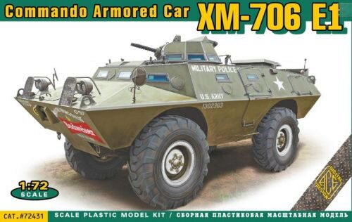 ACE 72431 XM-706 E1 Commando Armored Car