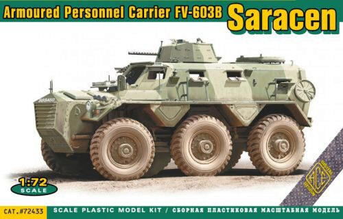 ACE ACE72433 FV-603B Saracen armored personnel carrie