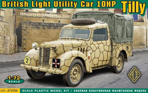 ACE 72500 British light utility car 10hp Tilly