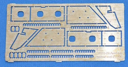 ACE PE7266 Photo-etched set for BTR-70 Add-on armor (for ACE kits #72164 & 72166)