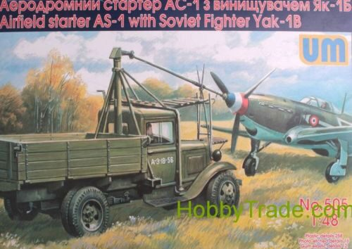 Unimodels UM505 Airfield starter AS-1with Soviet fighter