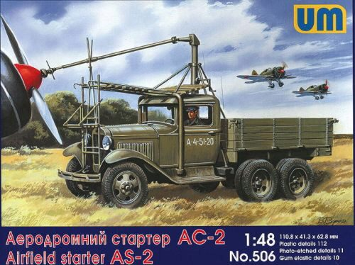 Unimodels UM506 Airfield starter AS-2 on GAZ-AAA