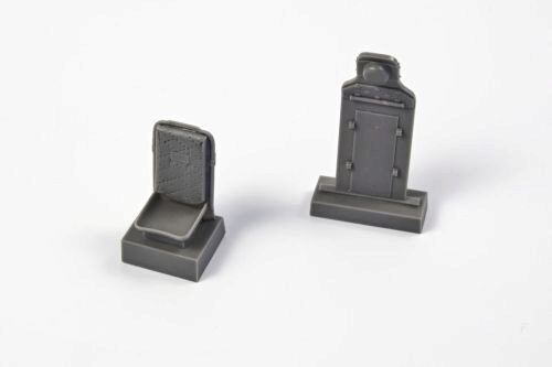 CMK 129-Q32320 P-51D Mustang-Seat+Armour Plate