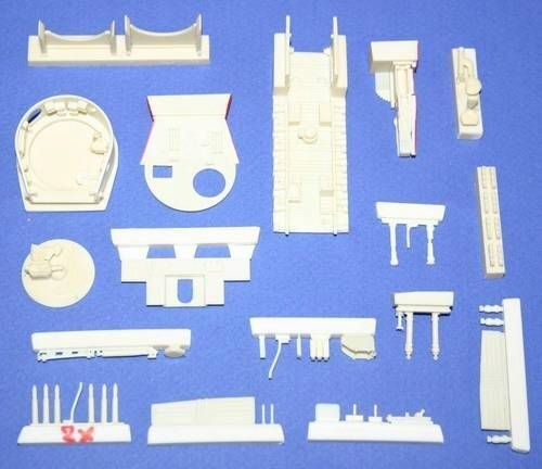CMK 2025 Tiger I late version interior set für Revell-Bausatz