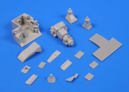 CMK 2042 M1A Abrams - Engine Set