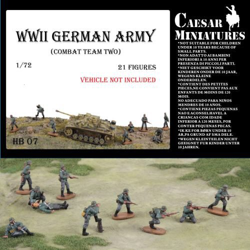 Caesar Miniatures HB07 WWII Germans Army (combat team two)