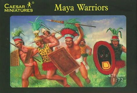 Caesar Miniatures H027 Maya Warrior