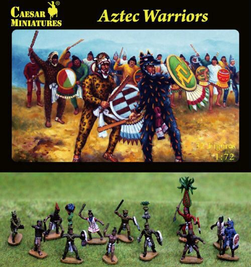 Caesar Miniatures H028 Aztec Warrior